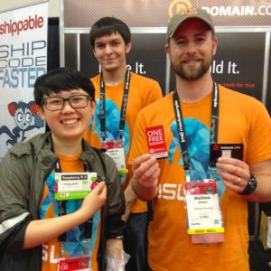 These guys won a Raspberry Pi and a free domain!