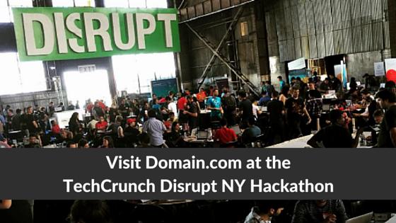 Visit us at TechCrunch Disrupt NY