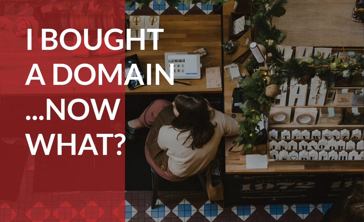Learn what to do after you purchase a domain name.