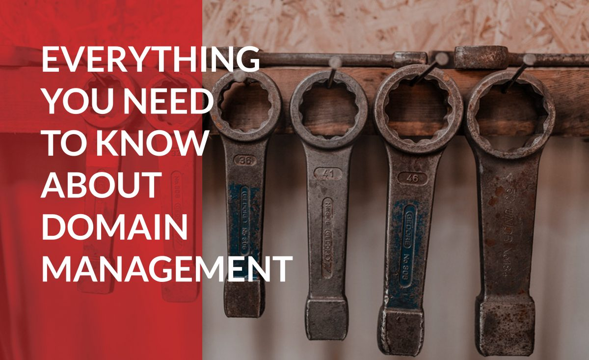 Learn everything you need to know about domain management