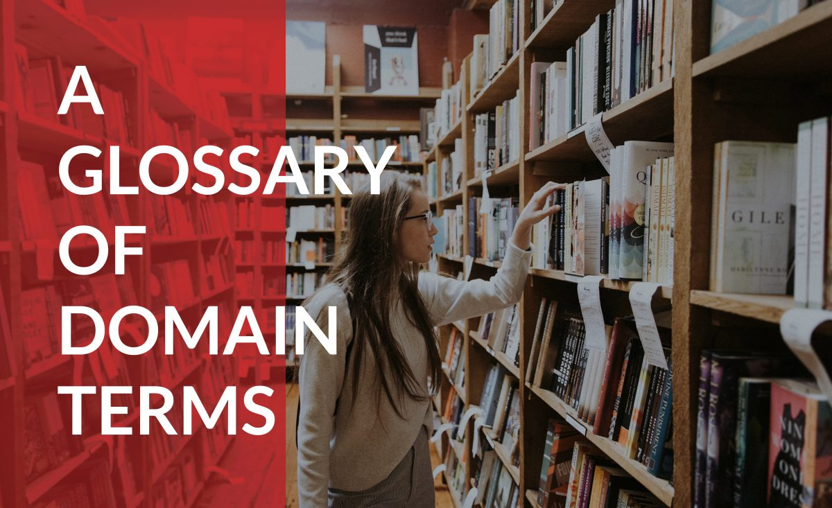 Use this glossary of common domain terms to help you get started