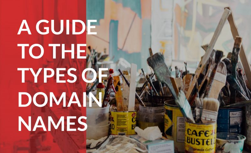 Learn the different types of domain names to choose one for your business idea.