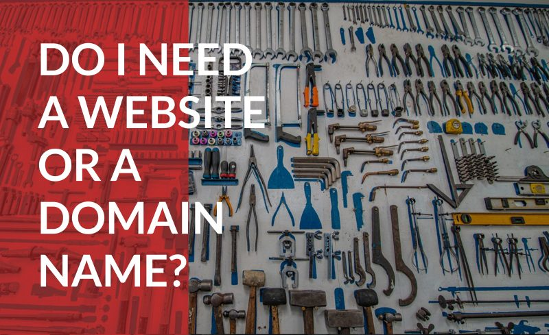 Find out the differences between domain names and websites.