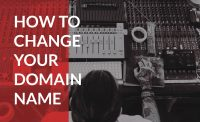 Learn the steps to change your domain name into something that grows your business.