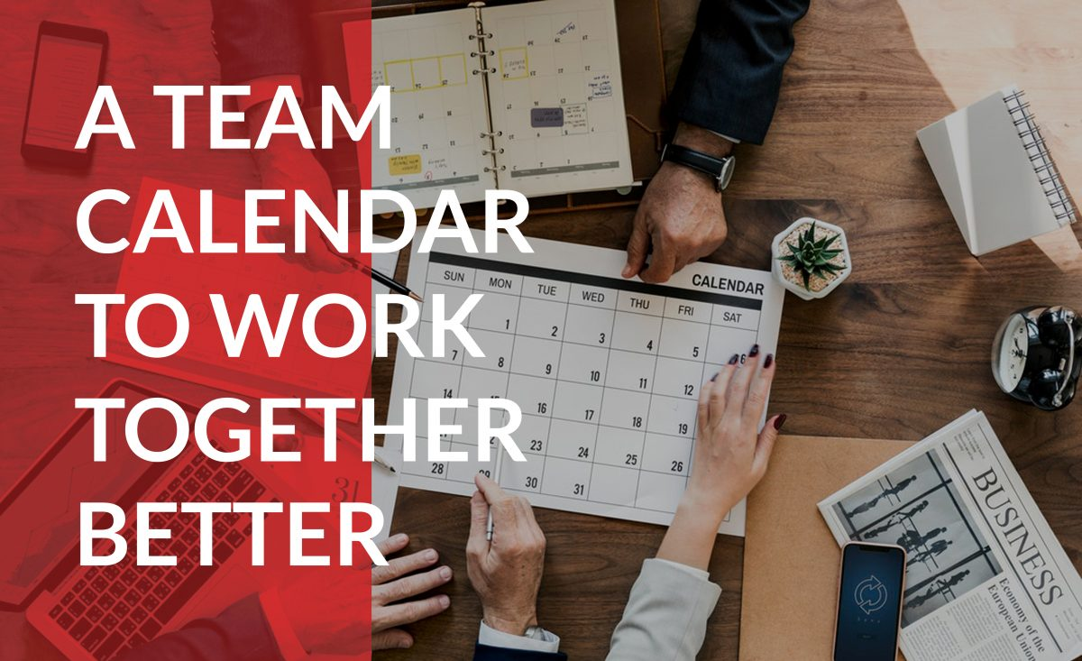 Help your teams work together better with the same calendar.
