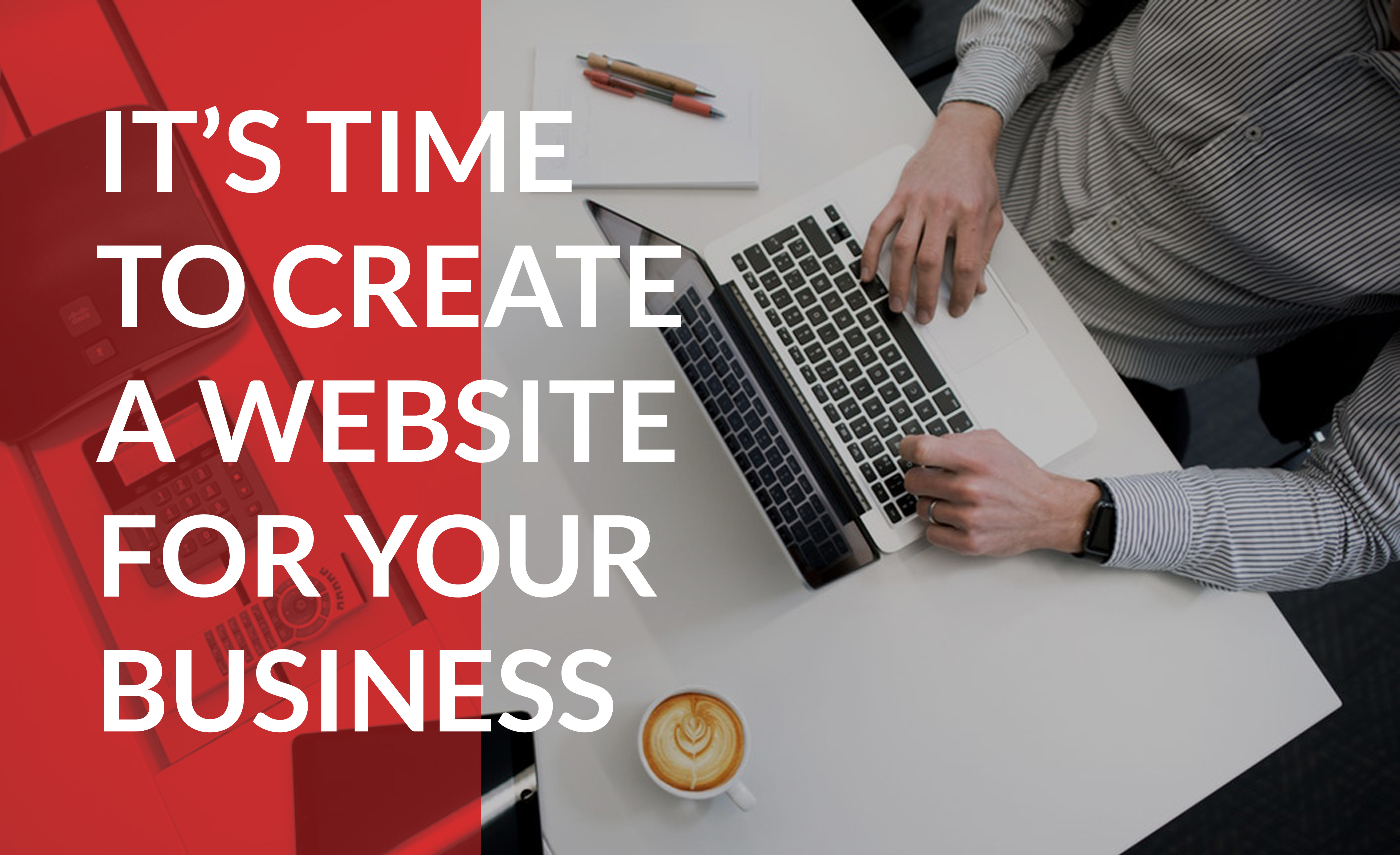 Use tools like WordPress and Domain.com to get your business online today.