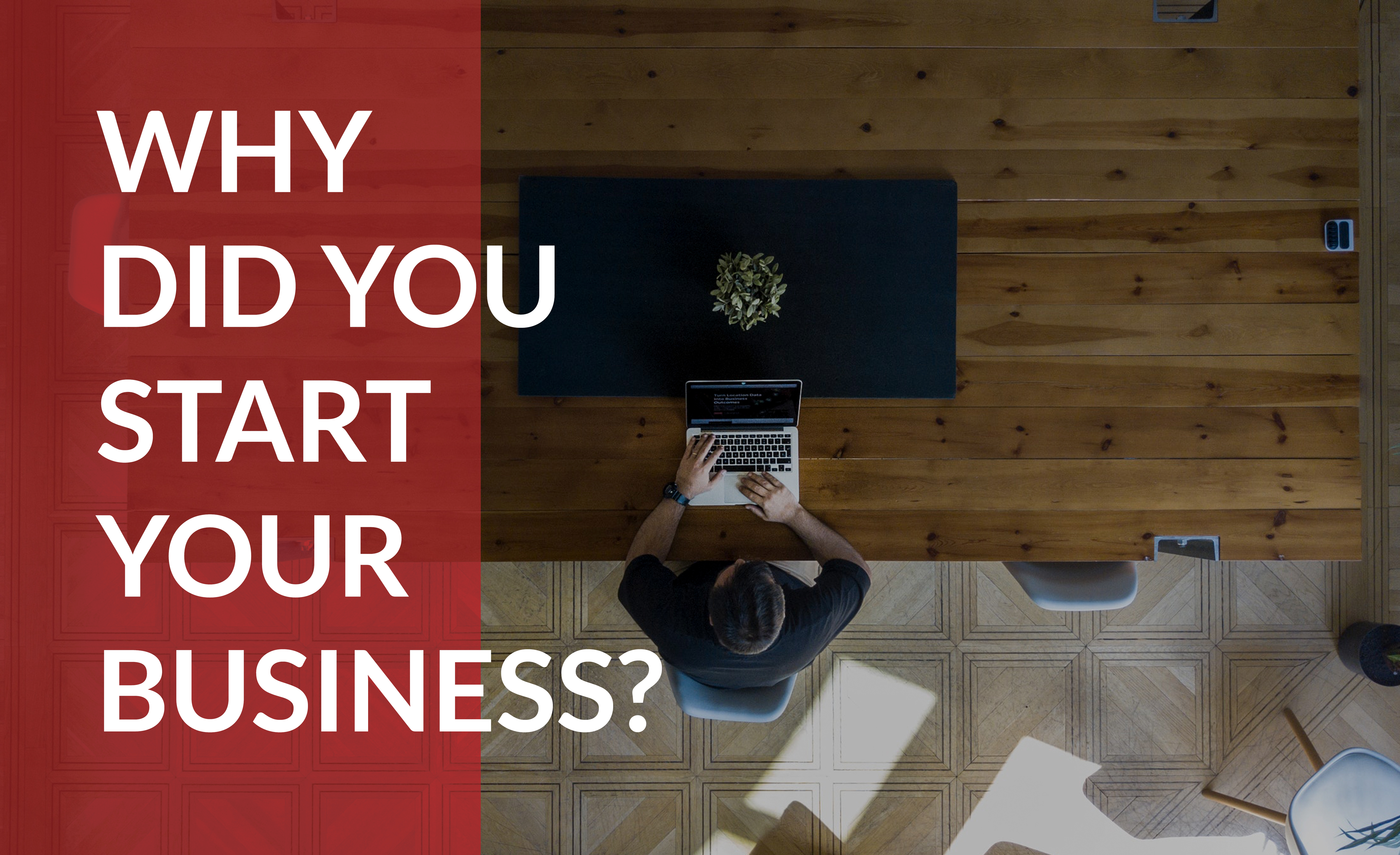 Power all of your marketing with the story of starting your business.