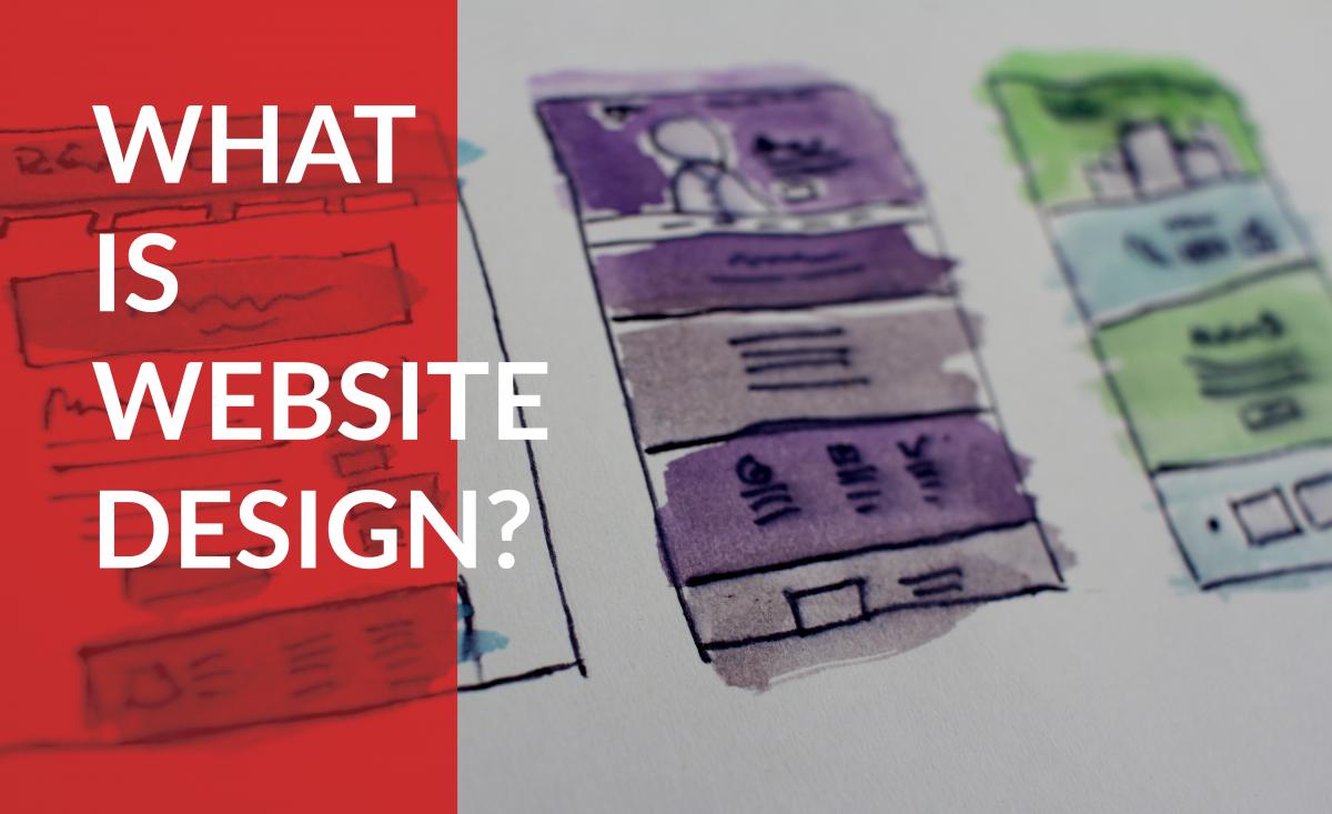 What is website design?