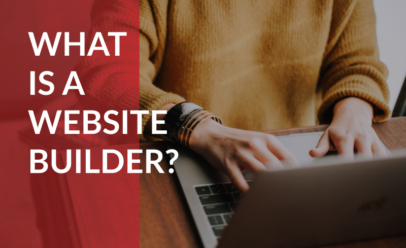 What is a website builder?