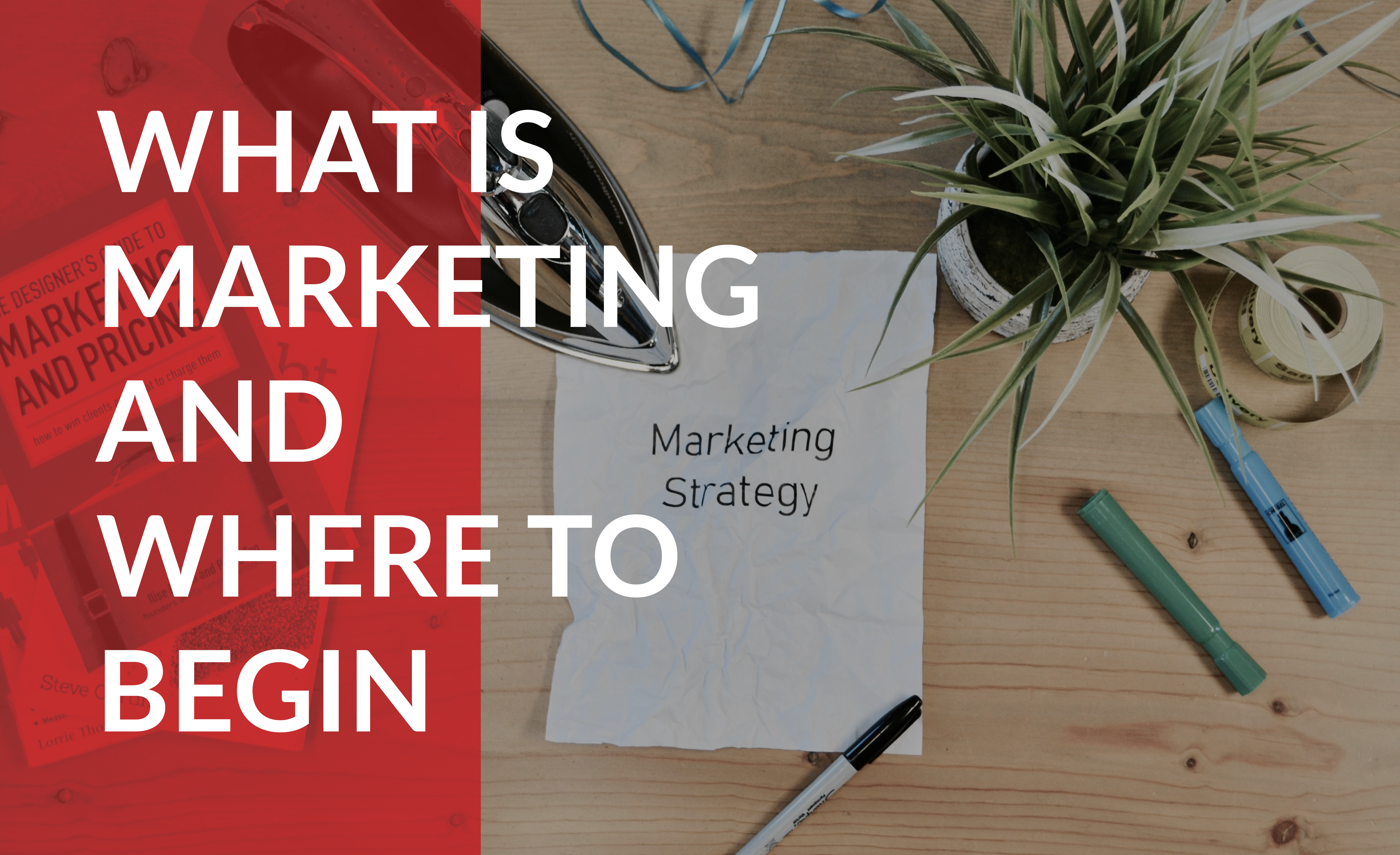 What is marketing and where to begin