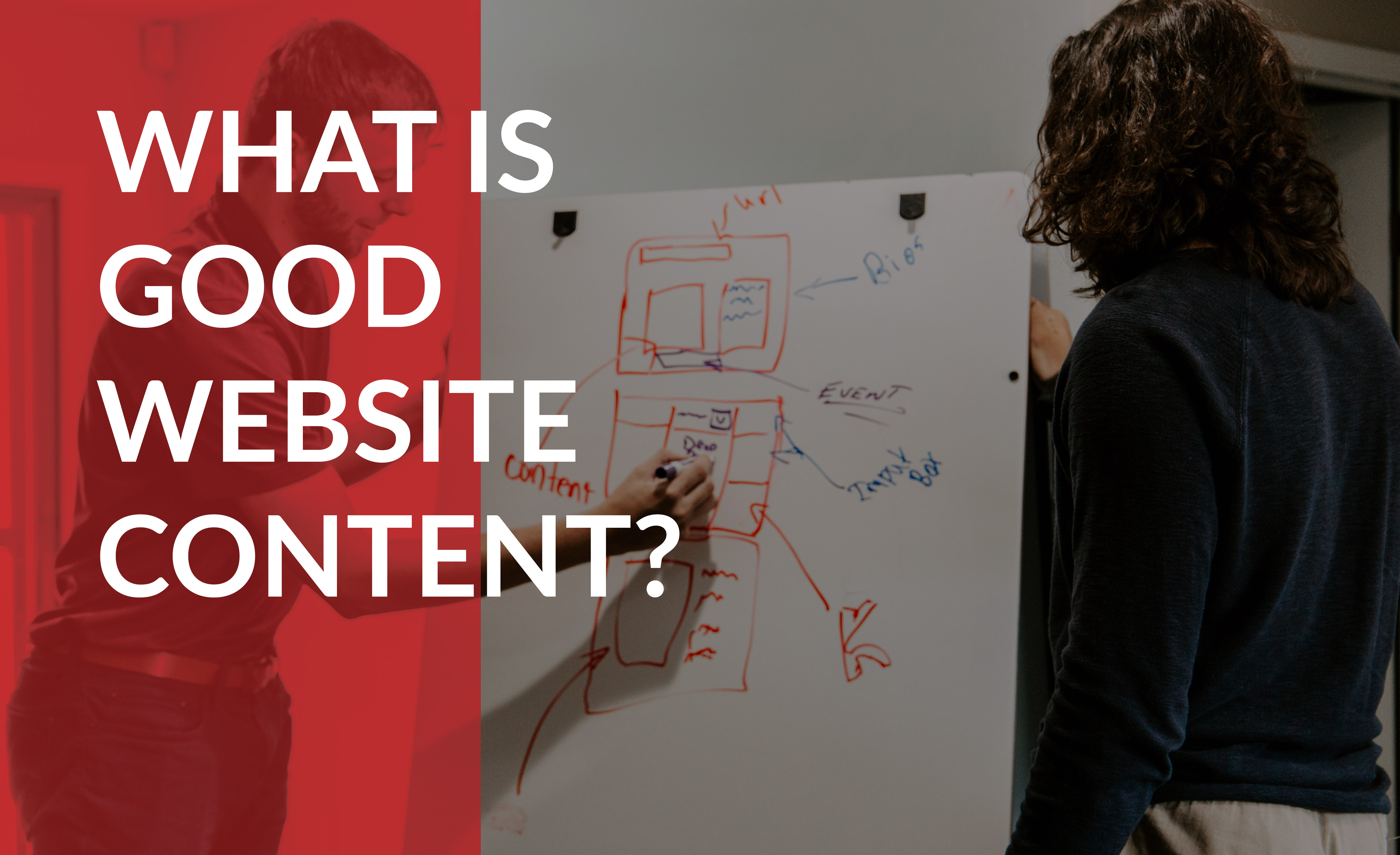 Exploring what makes for good website content.
