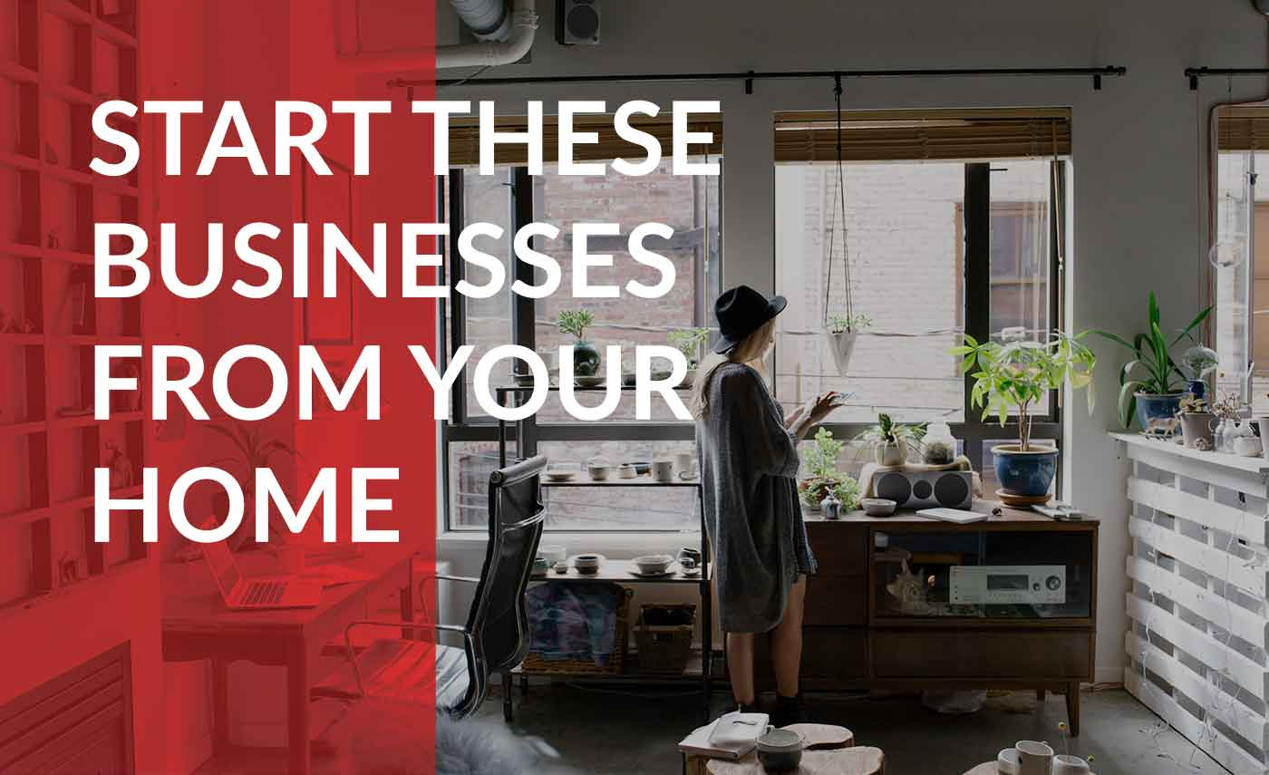 business ideas to start from home