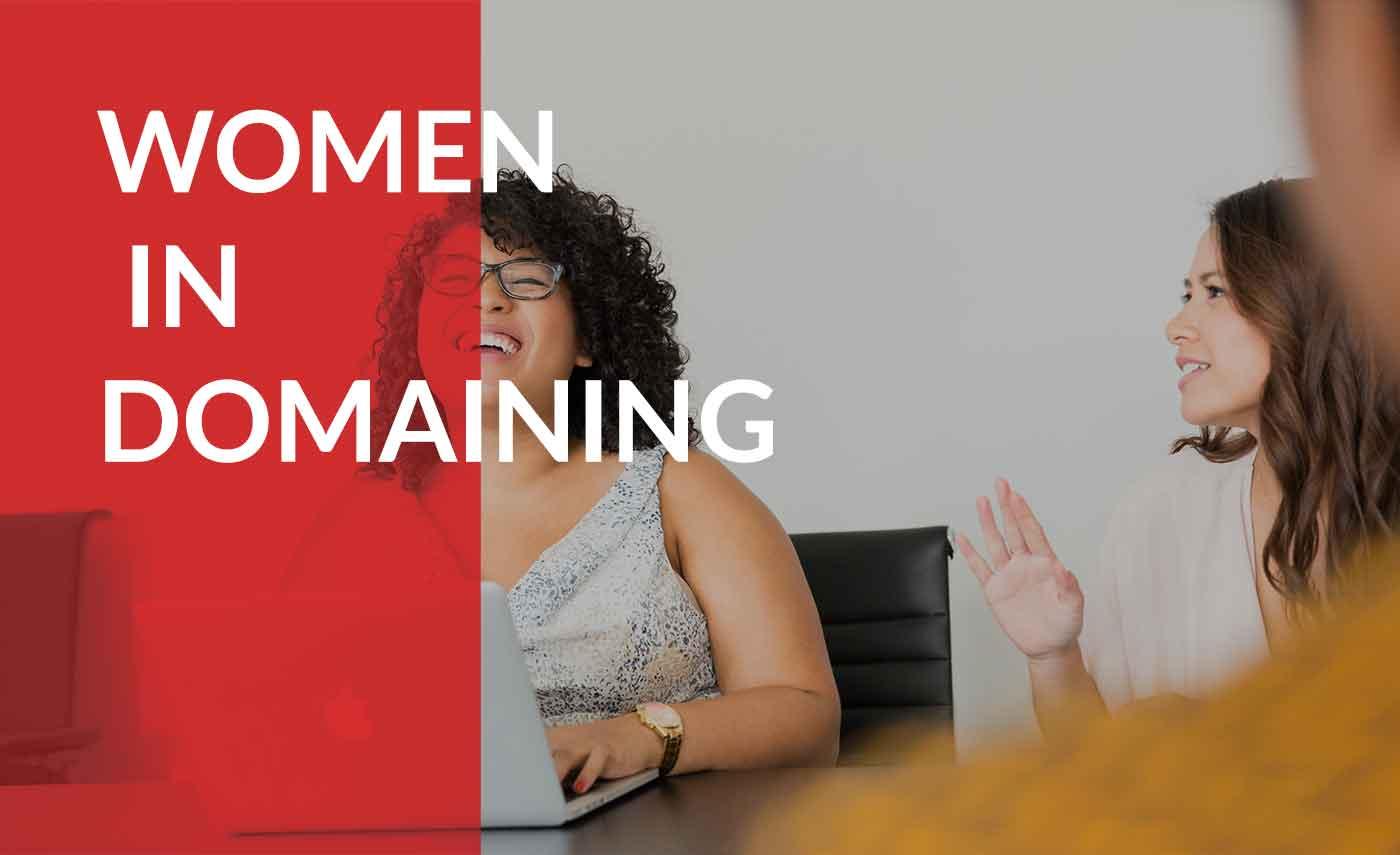 women in the domain industry